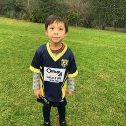 U6 Tigers winner Aiden Tsai