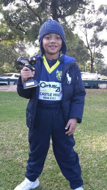 U6 Tigers winner Xavier