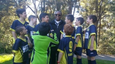 Fr Michael with U8's