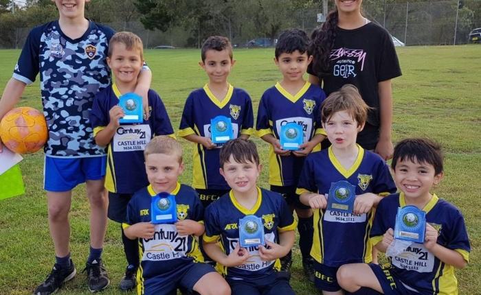 Summer Football Season wrap,U7's