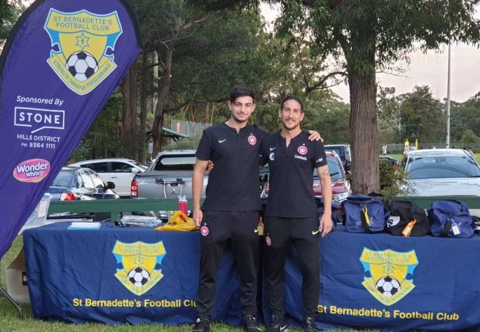 Wanderers A-League Players visit SBFC