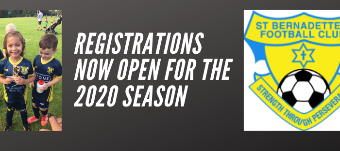 2020 Season now open for registration